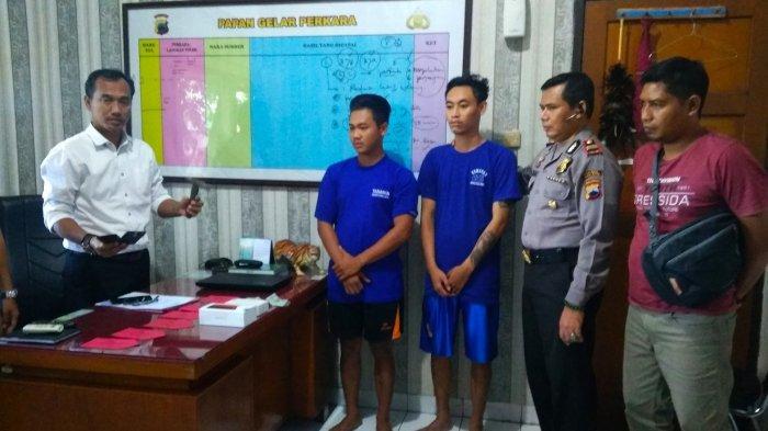 2 Begal Feri dan Irfan Beraksi di Taman P2KH Bung Karno Tegal, Ancam Pakai Palu Rampas HP Korban