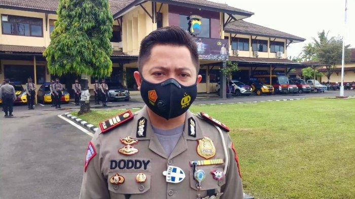 Kasatlantas Polres Batang, AKP Doddy Triantoro, saat ditemui awak media di Satlantas Polres Batang, Sabtu (19/12/2020).