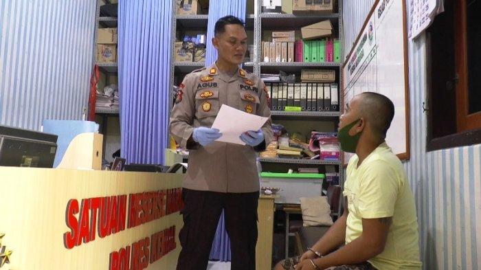 Satres Narkoba Polres Kendal Bekuk Indro Kurir Narkoba Asal Semarang