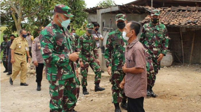 Kasdam Pastikan TMMD di Desa Majasto Sukoharjo Berjalan Sesuai Target