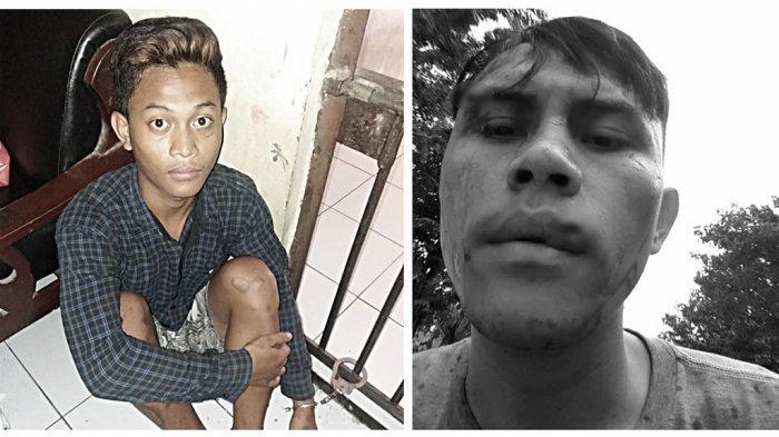 Tak Terima Dilirik, Unggul Lempar Paving ke Kepala Mulya di Depan PDAM Tembalang Semarang