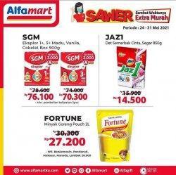 Promo Alfamart berlaku hingga 31 Mei 2021, banyak potongan harga, beli 2 gratis 1 hingga promo menarik lainnya. (Tangkap layar instagram @alfamart)