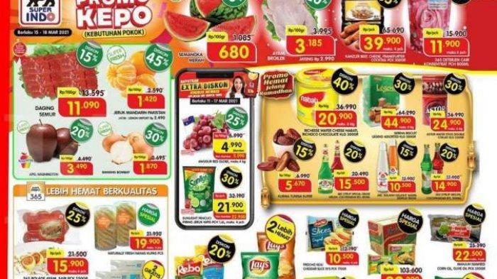 Katalog Promo Weekdays Superindo, Wafer Nabati Kaleng Cuma Rp 20 Ribu, Dua Bungkus Lays Rp 18 Ribu