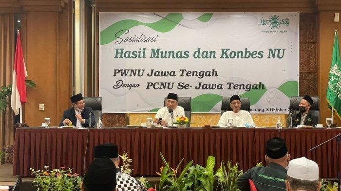 Dihadiri Gus Yahya, NU Jateng Nyatakan Rapatkan Barisan Jelang Muktamar ke-34