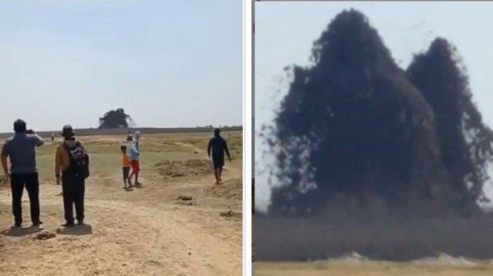 Kondisi Terkini 4 Warga Blora Keracunan Gas Kawah Oro-oro Kesongo yang Meletus