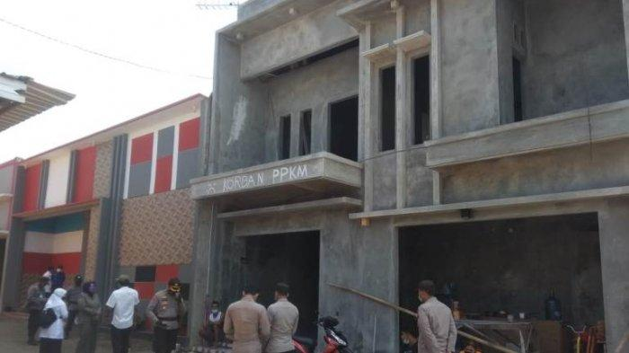 Banyak Bangunan Liar di Lokalisasi Lorong Indah, Satpol PP Pati Layangkan Surat Teguran