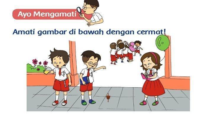 Kunci Jawaban Tema 2 Kelas 2 SD Halaman 122 123 124 125 126 127 129 130, Cara Berpakaian di Sekolah