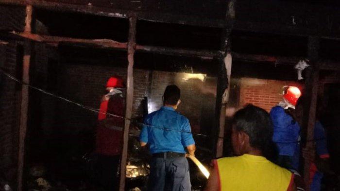 Rumah Sunarko Kebakaran Saat Ditinggal Salat Tarawih Pertama