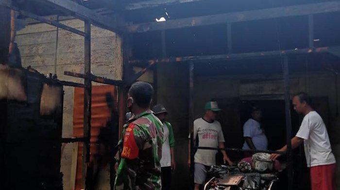 Tetangga Kira Suara Petasan, Rumah Buruh Tani di Blora Hangus Dilalap Api