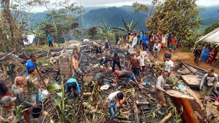 Kulit Miati dan Ibunya Melepuh Terjebak dalam Rumah Terbakar di Banjarnegara