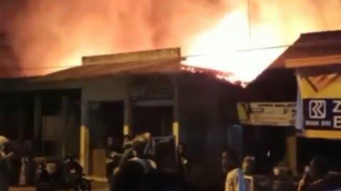 Kebakaran pasar kepohbaru bojonegoro