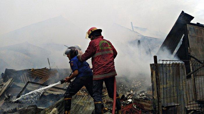 Sumber Api Kebakaran Pasar Srogo Kendal dari Kios Bakso
