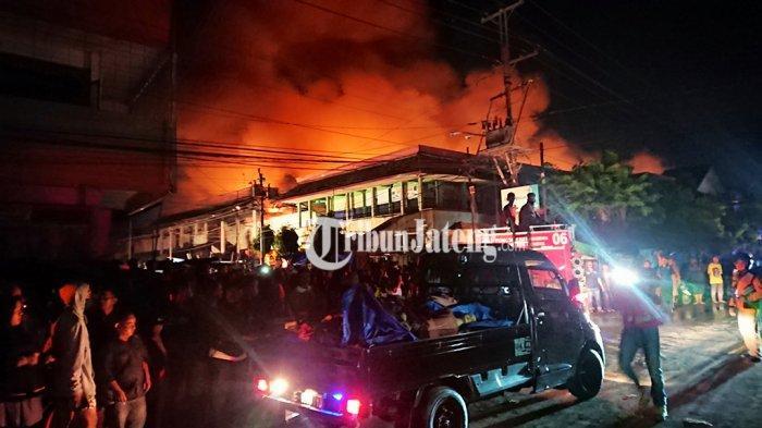 Kebakaran Pasar Weleri Kendal Diduga karena Korsleting Listrik di Kios Lantai 2