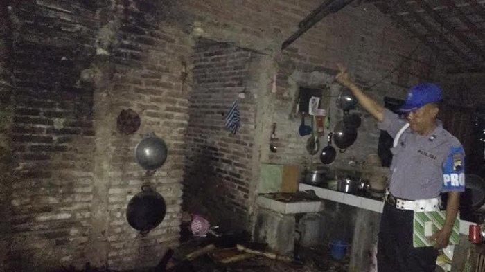 Ditinggal ke Pasar, Dapur Rumah di Kemangkon Purbalingga Terbakar