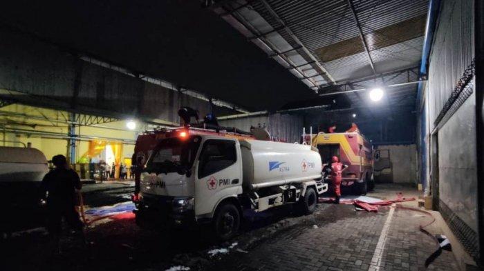 Kebakaran di Pabrik Kacang Garudafood Pati, Kerugian Ditaksir Senilai Rp 250 Juta