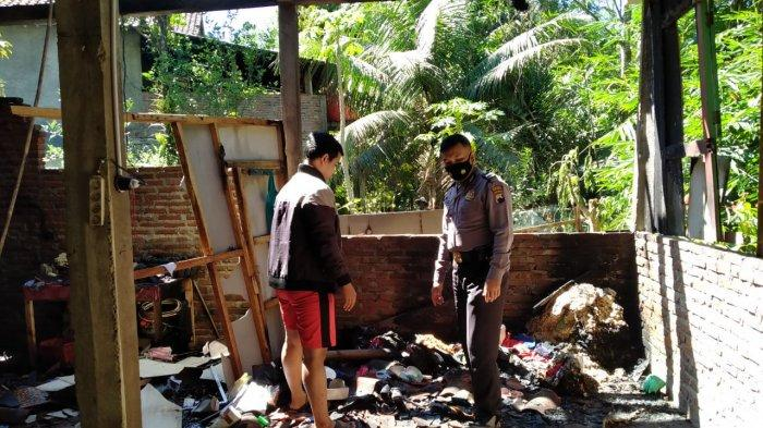 Pemilik Panaskan Sayur Setelah Sahur, Rumah Warga Kalirancang Kebumen Terbakar