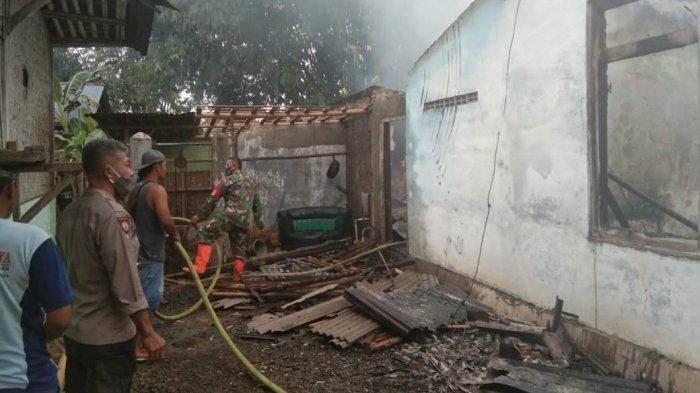 Masak Air Ditinggal Ngobrol dengan Tetangga, Rumah di Kaligondang Purbalingga Ludes Terbakar