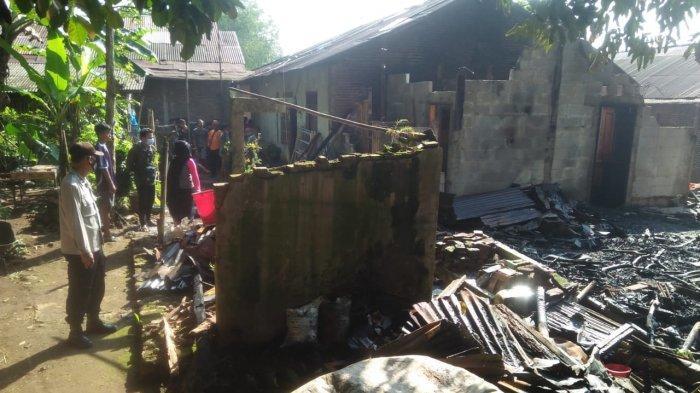 Kebakaran Rumah Warga Mrebet, Bara Api Tungku Dikira Sudah Padam, Ternyata Merambat ke Kayu Bakar
