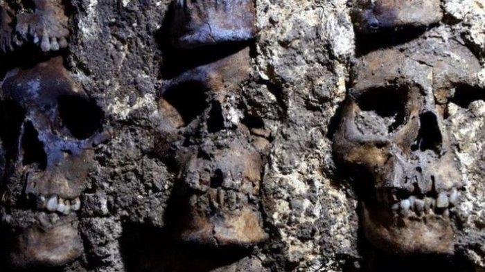 Arkeolog Temukan Menara Tengkorak Berusia 500 Tahun di Bawah Meksiko City