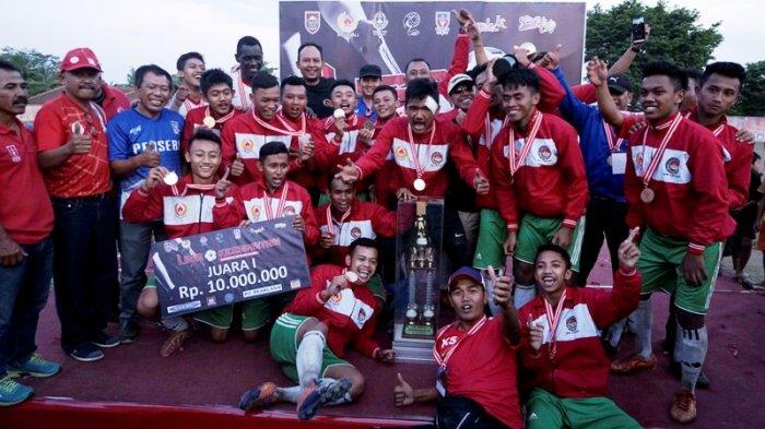 Kecamatan Cepogo Boyolali Juarai Liga Kecamatan2018