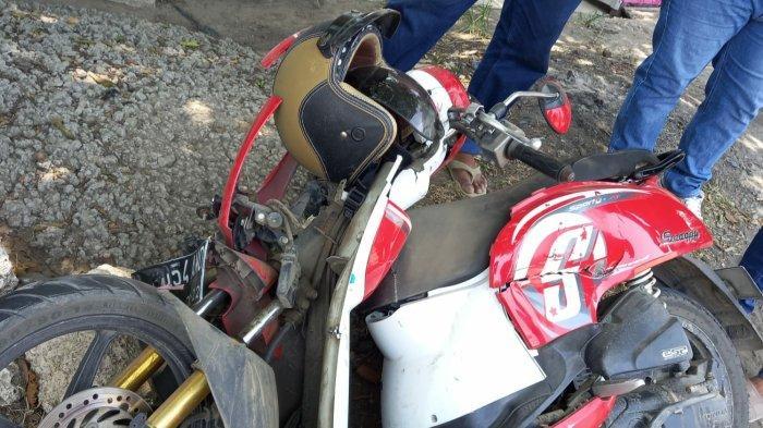 Terjadi Kecelakaan di Kota Semarang, Truk Vs Motor Scoopy Hingga Hancur, Begini Kondisi Pemotor