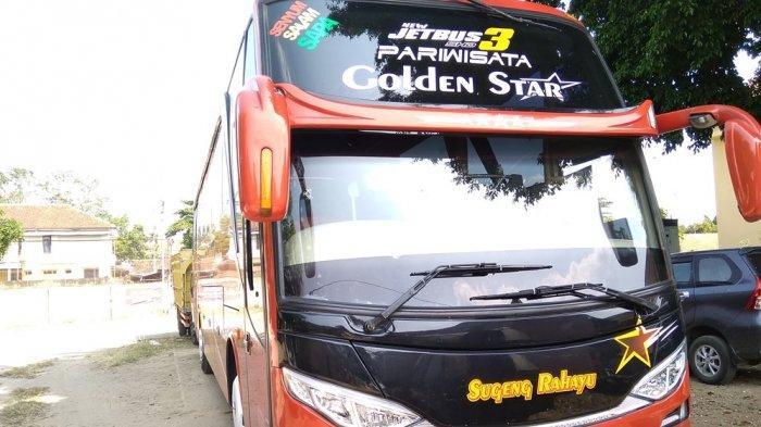 Pengendara Motor Ini Diduga Terjatuh Saat Dengar Klakson Bus Sugeng Rahayu, Istrinya Meninggal