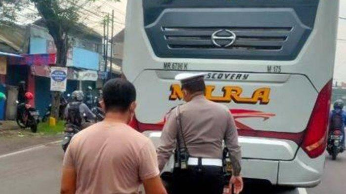 Bus Mira Kecelakaan Adu Muka Motor Beat Sragen, Rina Ana Meninggal