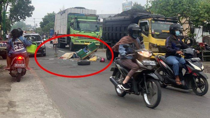 Motor Shogun Kecelakaan di Sukoharjo Tabrak Truk, 1 Orang Meninggal Warga Klaten