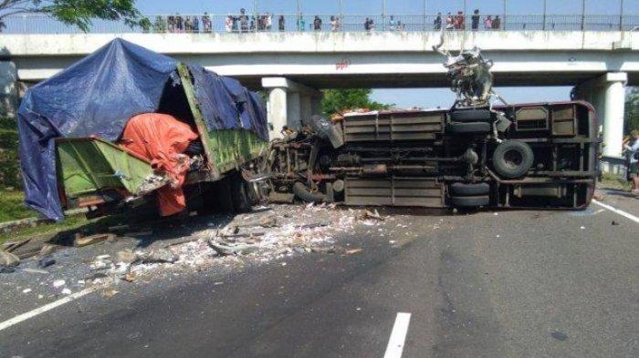 10 Orang Tewas di Tol Cipali, Mengapa Berkendara di Belakang TrukBerbahaya dan Tips Menghindarinya