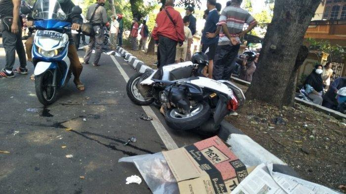Warga Sayung Ngebut Naik NMax Kecelakaan Tabrak Lansia Lagi Nyebrang: 3 Orang Meninggal