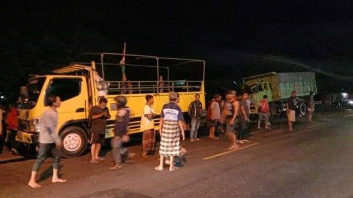 3 Nyawa Melayang Tertumbuk Truk Tronton Rem Blong Flyover Kretek: Sukirno, Mahmud dan Napsiah