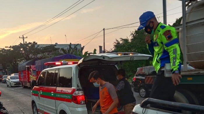 Rohmatun Meninggal Kecelakaan Tertabrak Truk di Jogoloyo Demak