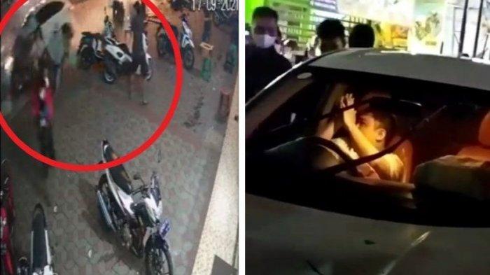 Detik-detik Kecelakaan Karambol di Jalan Kaliurang Jogja, HRV Tabrak Gerobak dan 2 Mobil