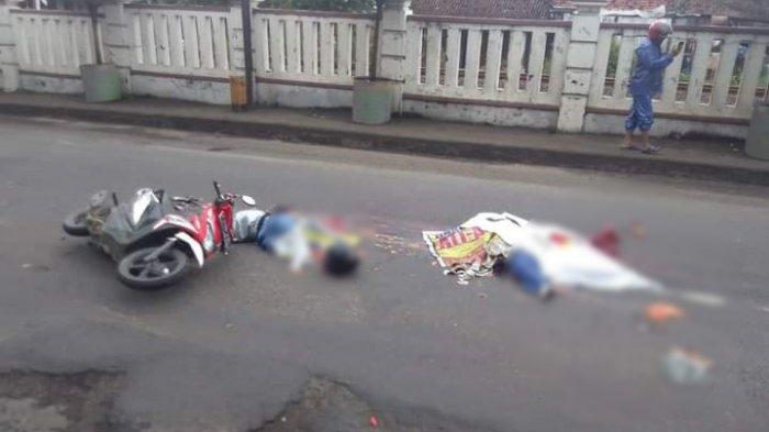 Kronologi Pasutri Meninggal Kecelakaan Maut Terlindas Truk di Brebes: Kaget Ngerem Mendadak