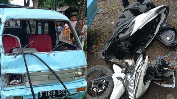 Kecelakaan Maut Carry Vs Vario di Pati Tarmuji Meninggal Suwarti Luka Parah