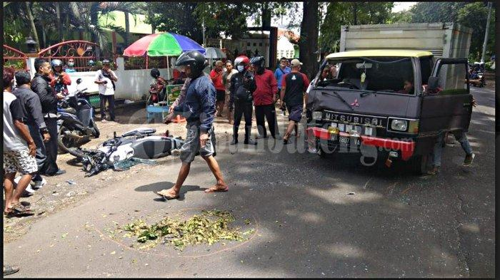 Kecelakaan Maut di Mijen Semarang Renggut Nyawa Lindu Aji, Motor Hancur Tabrak Mobil Boks
