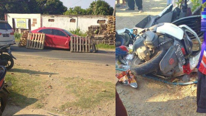 Kronologi Kecelakaan di Pati Honda Civic Tabrak N-Max dan Supra Lima Luka Berat