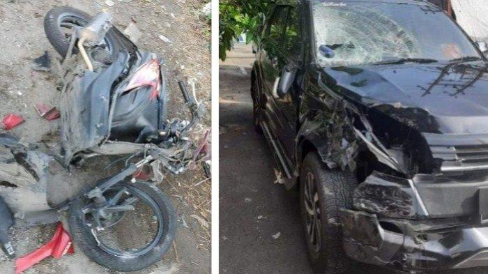 Kecelakaan Maut di Sidoarjo Motor vs Mobil 1 Meninggal