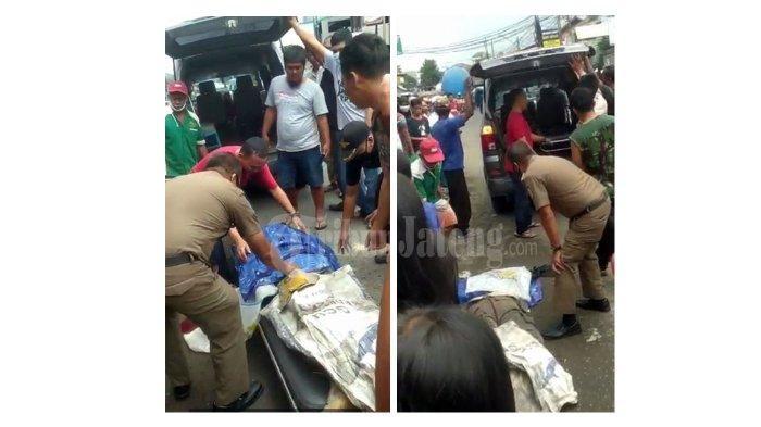 Jajat Satpol PP Tewas Kecelakaan Terlindas Truk di Citeureup, Lagi Tugas Ngawal Bansos Desa