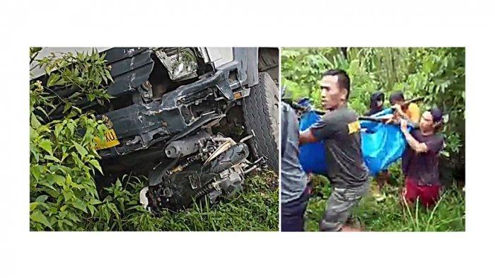 Kecelakaan Maut Truk Rem Blong Tabrak 4 Kendaraan di Sitinjau Lauik, Korban Terpental Masuk Jurang