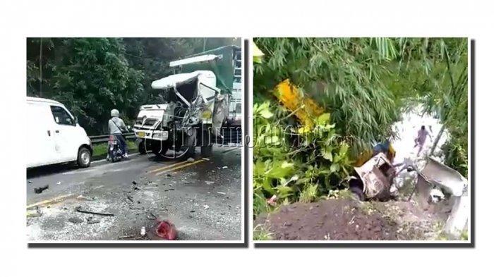 2 Truk Kecelakaan di Tanjakan TKPI Semarang, Versi Warga: Rem Blong