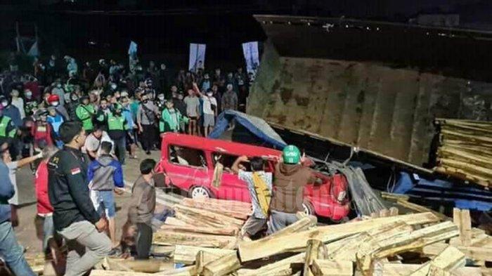 Kecelakaan Maut di Simpang Empat Salatiga, Truk Rem Blong 2 Orang Tewas, Ini Identitas Korban
