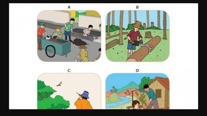 Kunci JawabanKelas 4 Tema 9 Halaman 100 101 103 104 107 112, Manusia dan Alam