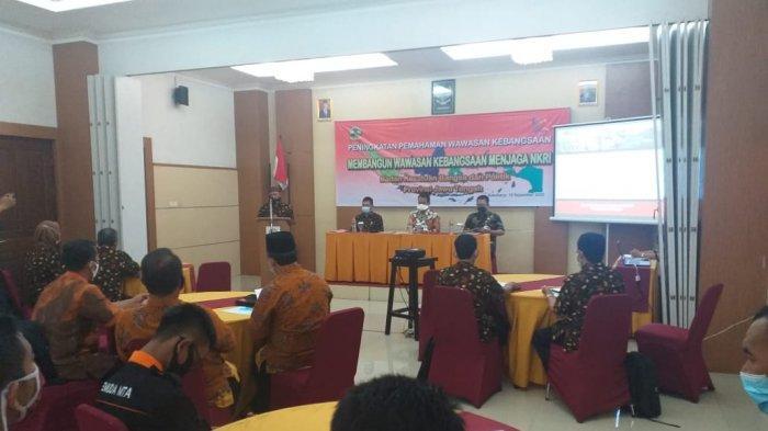 Kesbangpol Jawa Tengah Beri Pemahaman Wawasan Kebangsaan Kepada Mantan Napi Teroris di Sukoharjo