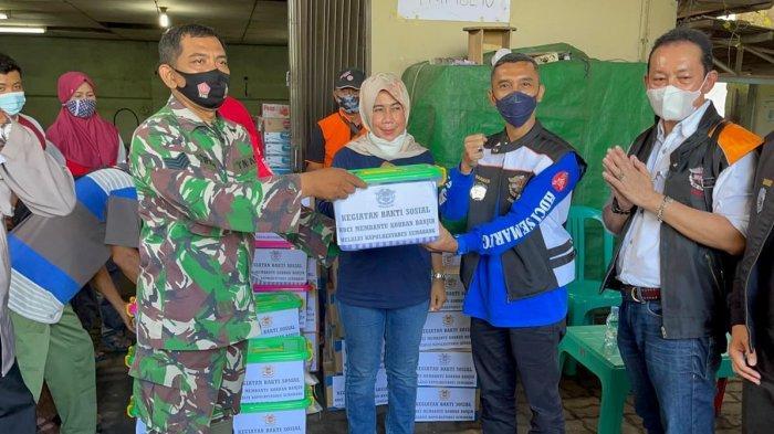 Anggota HDCI Semarang Iuran Berikan Bantuan Kepada Masyarakat Terdampak Banjir di Trimulyo