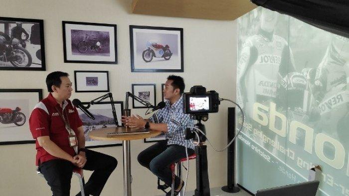 Astra Motor Jateng Usung Konsep Podcast dalam Kegiatan Training Pengembangan SDM
