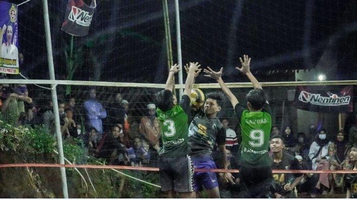Lawan Covid dengan Olahraga, 16 Tim Ikuti Turnamen Voli di Banjarnegara