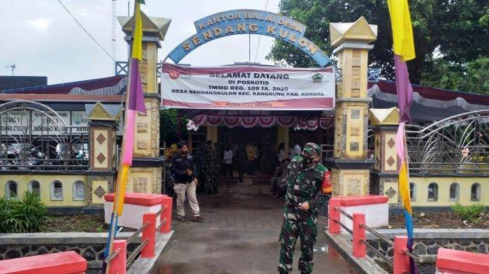 Kenangan TMMD Kendal Masih Lekat di Kantor Desa Sendang Kulon