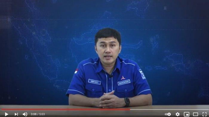 Kepala Bakomstra DPP Partai Demokrat, Herzaky Mahendra Putra