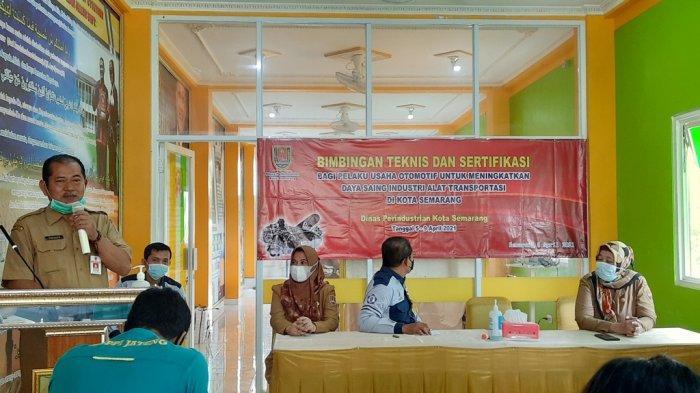 Disperin Kota Semarang Dorong Pelaku Bisnis Otomotif Kantongi Seritifikat